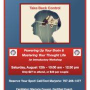 Take Back Control flyer