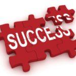 Red Success puzzle